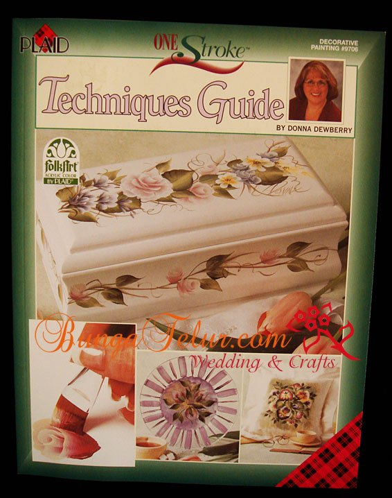 One Stroke Techniques Guide By Donna Dewberry Bungatelur Info